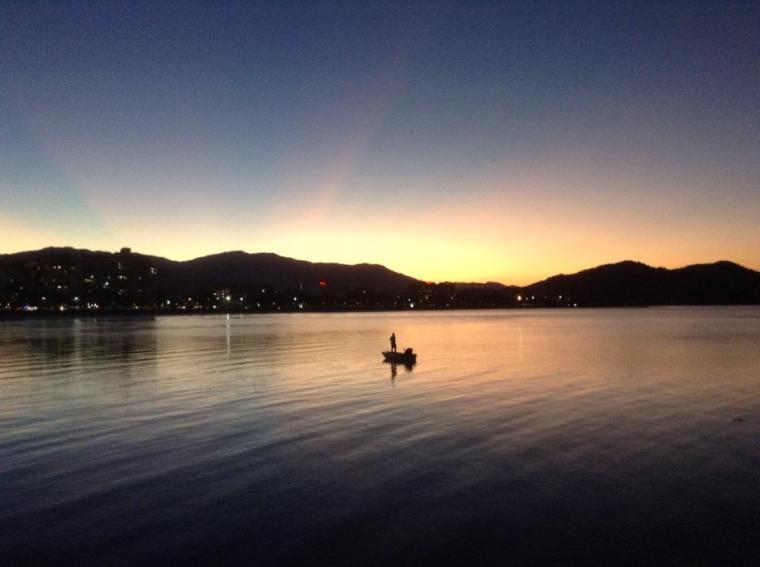 Coucher de soleil sur Cairns
