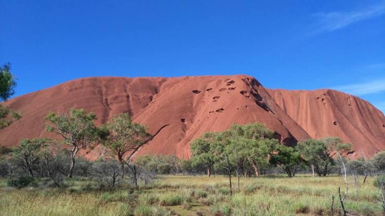 La terre ocre d'Alice Springs.