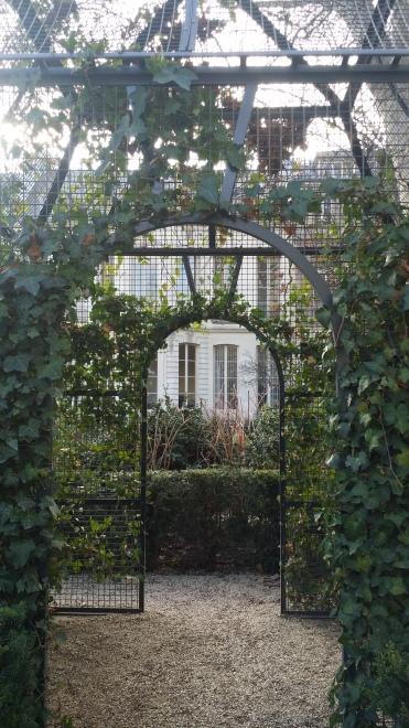 Les agréables jardin de l'Hôtel de Soubise
